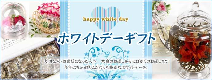 2013 ホワイトデーギフト 大切な人・お世話になった人へ 本命のお返しから子おろばかりのお返しまで 今年はちょっぴりこだわった特別なホワイトデーを